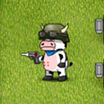 Play Cow VS Zombie