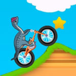 Play Dinosaur Bike Stunt